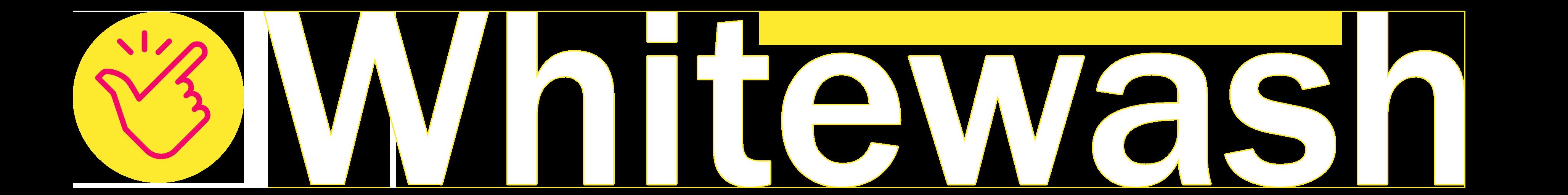 logo whitewash contornato